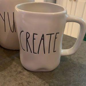 Rae Dunn Create mug only